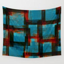 Blockprint Colors no2 Wall Tapestry