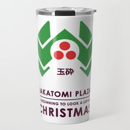 Nakitomi Plaza - Action movie Christmas Travel Mug