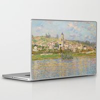 monet Laptop & iPad Skins featuring Vetheuil by Claude Monet by Palazzo Art Gallery