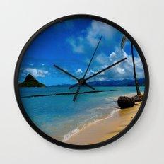 Hawaiian Dreams Wall Clock