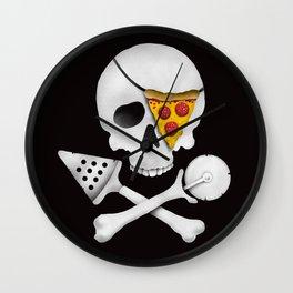 Pizza Raider Wall Clock