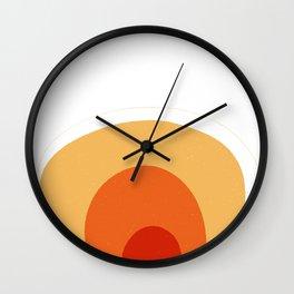 Lava lamp | Large wall art print | Happy art Wall Clock