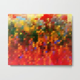 1001 Abstract Thought Metal Print