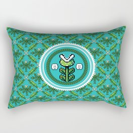 8bit Deco Rectangular Pillow