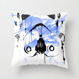 Modern Trooper Throw Pillow