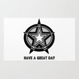 HAVE A GREAT DAY Rug