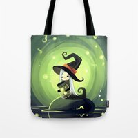 fireflies Tote Bags featuring Fireflies by Freeminds