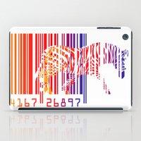 zebra iPad Cases featuring zebra  by mark ashkenazi