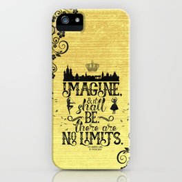 The Crown's Game - No Limits iPhone Case