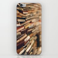 library iPhone & iPod Skins featuring library by Kristina Strasunske