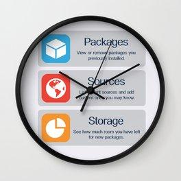 Cydia Manage Wall Clock