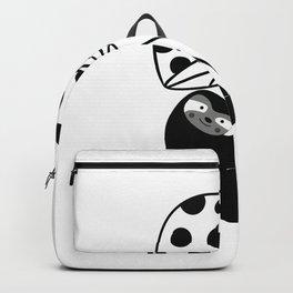 Black Sloth Backpack