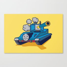 Thomas The Tank Canvas Print