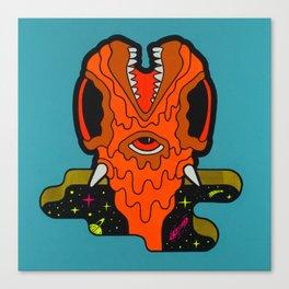 Portals of The Unknown 2 - pop surreal artwork Canvas Print