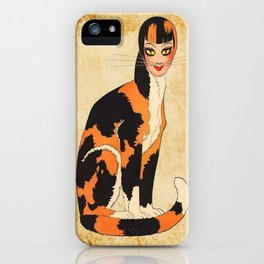 Cat-Woman iPhone Case