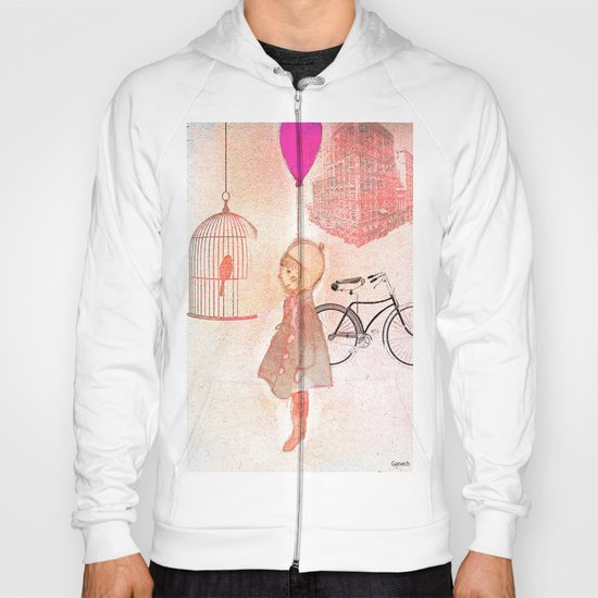 Shelsea  and the birdcage Hoody