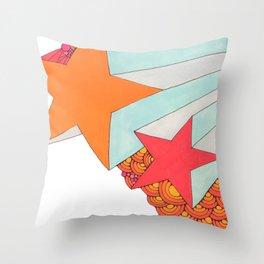 starburst I Throw Pillow