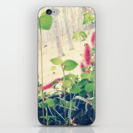 Patterson floral iPhone Skin