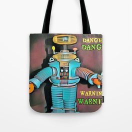 Lost in Space Robot Tote Bag