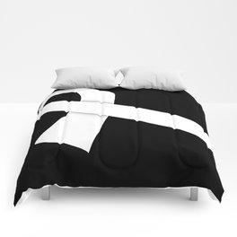 White Ribbon Comforters