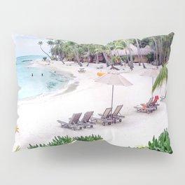 Bora Bora Tahiti Beach Scene 2  Pillow Sham