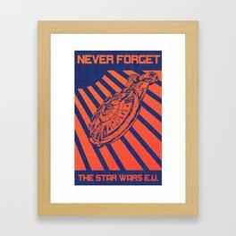 Remember Skyhook Framed Art Print