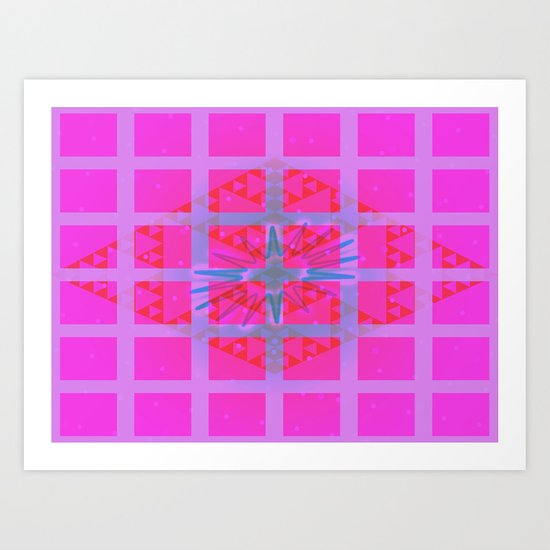 The Power of ADHD Art Print