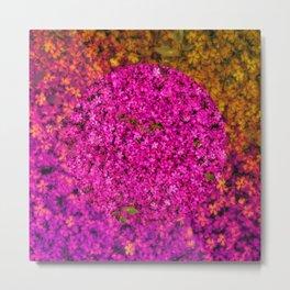 Million Flowers Metal Print
