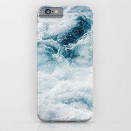 sea - midnight blue storm iPhone Case