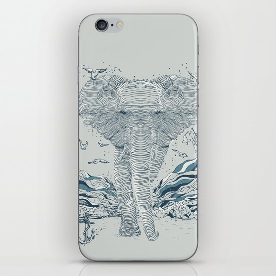 THE OCEAN SPIRIT iPhone & iPod Skin