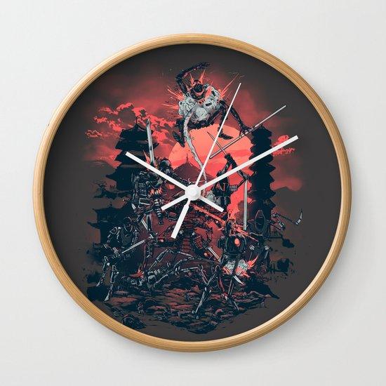 The Showdown Wall Clock