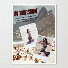 """Del Rey """"In The Sun!"""" Canvas Print"""