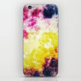 Watercolor effect digital art iPhone Skin