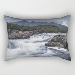 One Day in the Mountains Rectangular Pillow