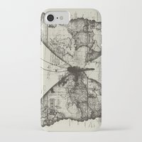backpack iPhone & iPod Cases featuring Butterfly Effect by Tobe Fonseca