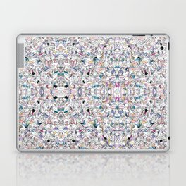 Geometricly Speaking Laptop & iPad Skin