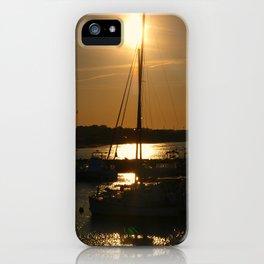 Seeping Sun iPhone Case