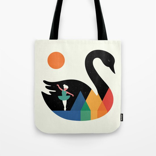 Swan Dance Tote Bag