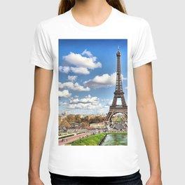 paris tour eiffel T-shirt
