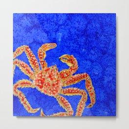 Sea Crawler Metal Print