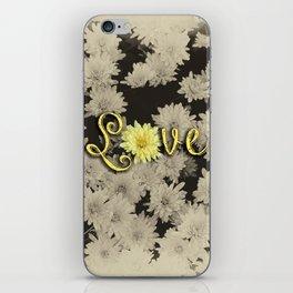Love Flowers iPhone Skin