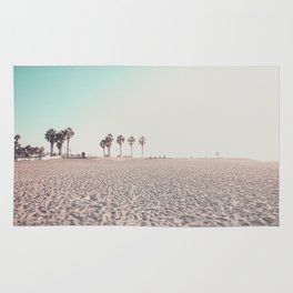 Ocean Beach Sunset San Diego California Rug