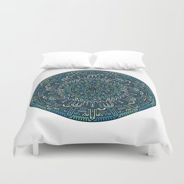 Winter Mandala Duvet Cover