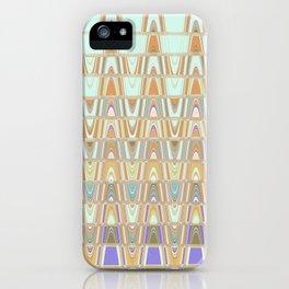 Zentangle Brown iPhone Case