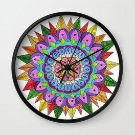 skyflower 4 Wall Clock