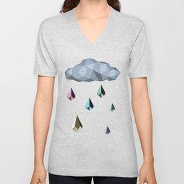 ORIGAMI Raining Day Unisex V-Neck
