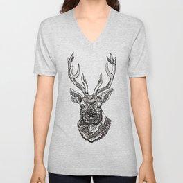 Spirit Elk Unisex V-Neck