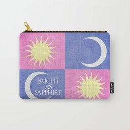 House Tarth Inspired Print Carry-All Pouch