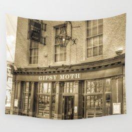 The  Gypsy Moth Pub Greenwich Wall Tapestry