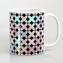 Abstract pattern . To embroider a cross . Coffee Mug
